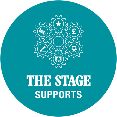 The Stage Supports Logo