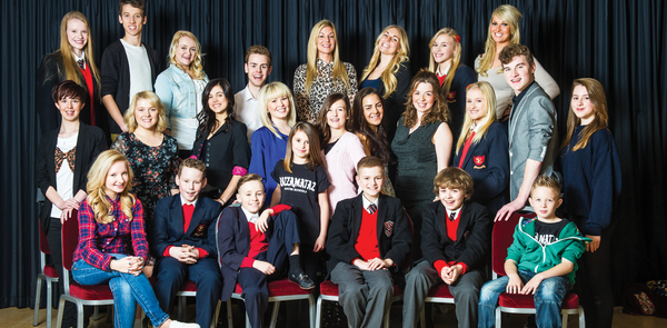 The Stage Scholarships 2012 in pictures