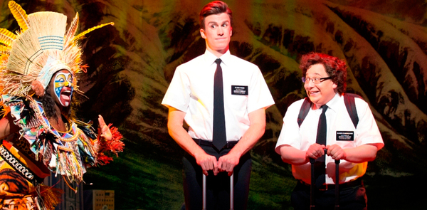 Book of Mormon stars - 'The show is bringing new audiences to theatre'