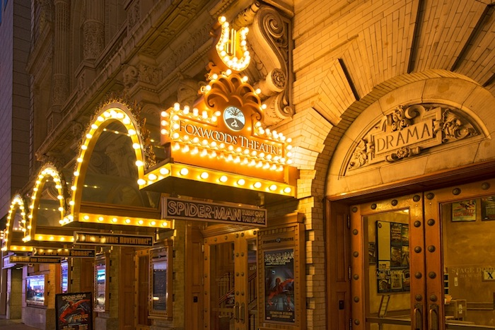 The Foxwoods Theatre on Broadway is ATG's latest purchase.