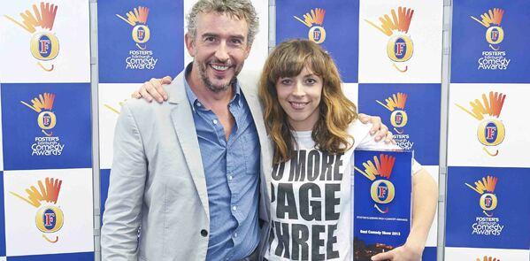 Bridget Christie wins best comedy show at Foster's Edinburgh Comedy Awards