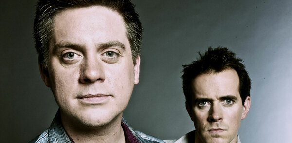 CBBC's Dick and Dom join the West End production of Spamalot