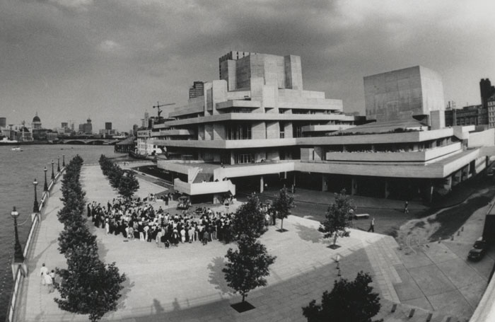 The National Theatre in 1976