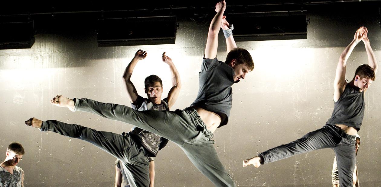 A scene from The Talent by Ballet Boyz. Photo: Tristram Kenton