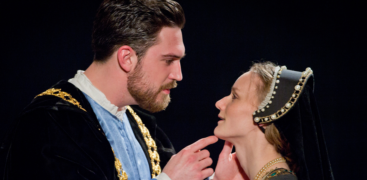 A scene from Rose Bruford College's production of Anne Boleyn