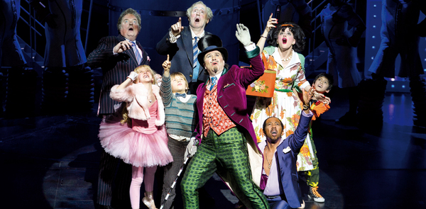 Musicals Charlie and the Chocolate Factory and Merrily We Roll Along lead Oliviers nominations