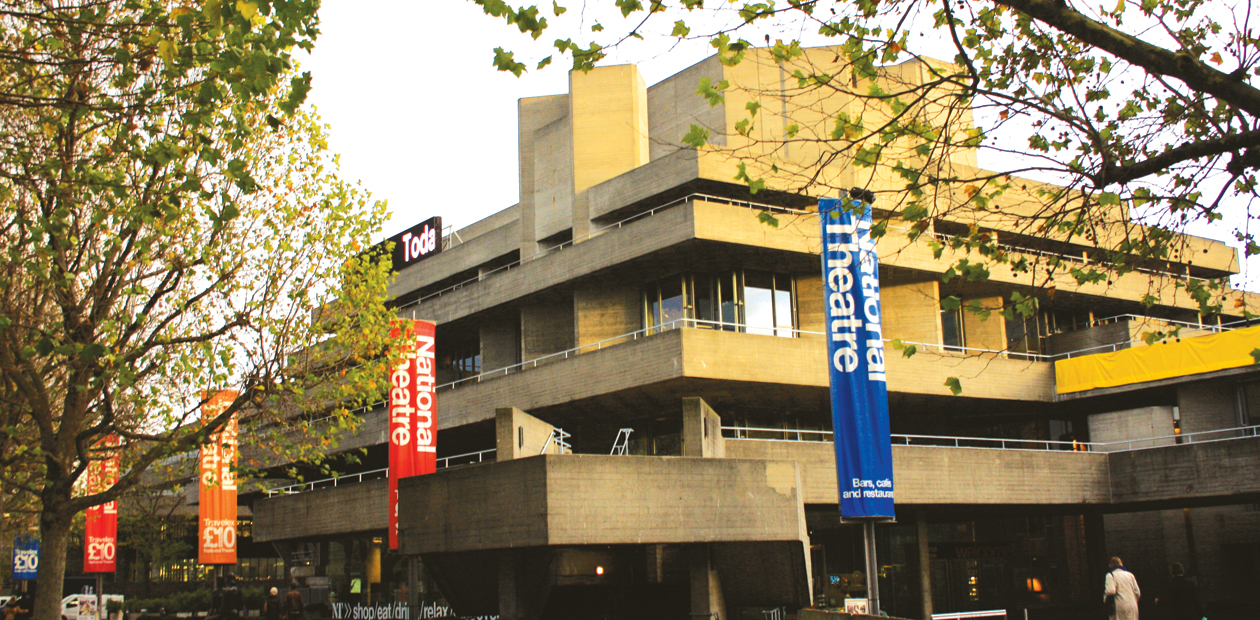 The National Theatre in London, which receives National Lottery funding. Photo: Catherine Gerbrands
