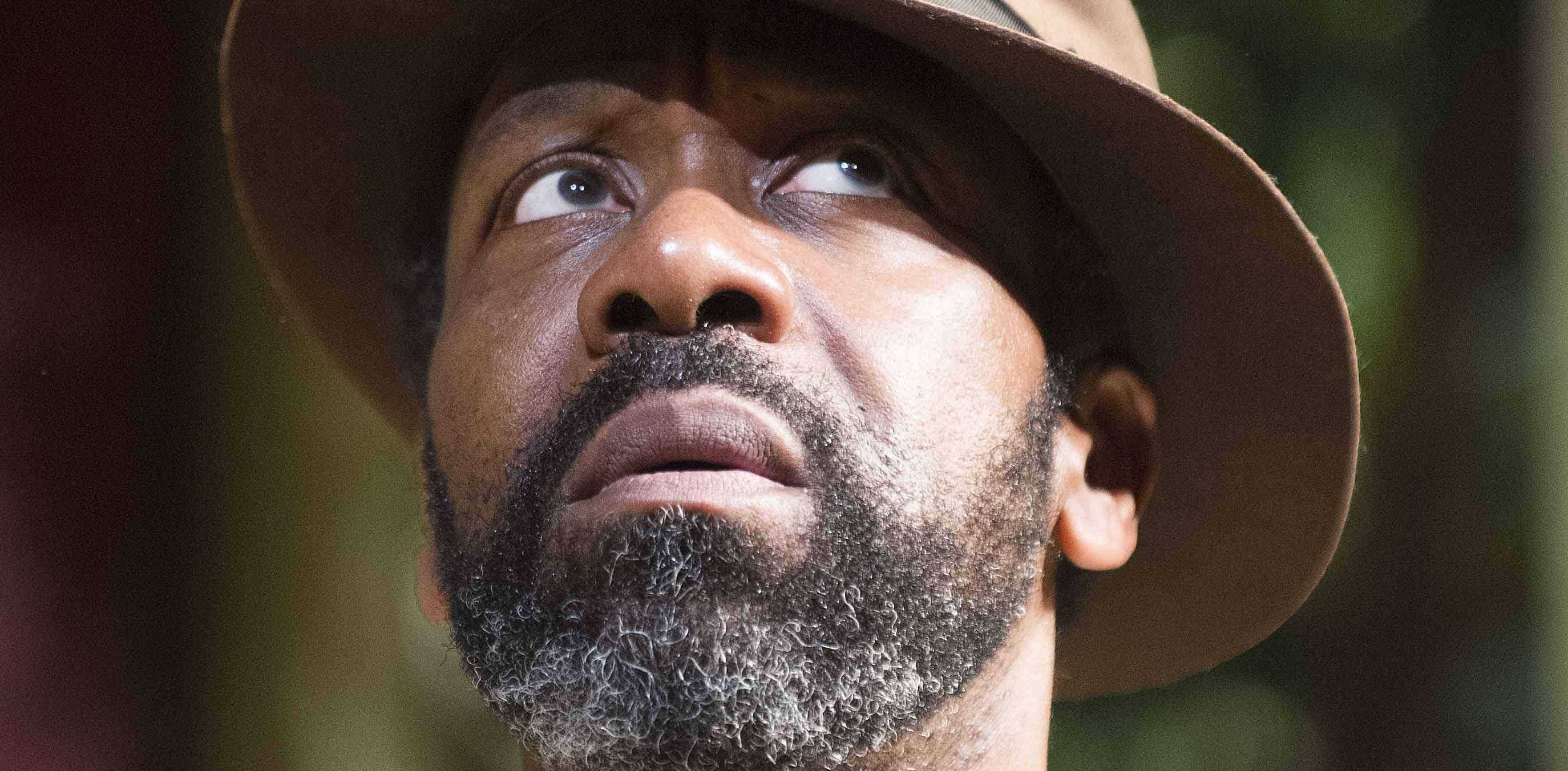 Lenny Henry, who will be hosting the Olivier Awards, in a scene from Fences. Photo: Tristram Kenton