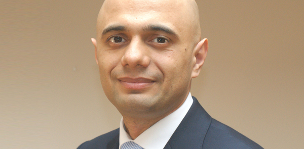 Sajid Javid named new culture secretary