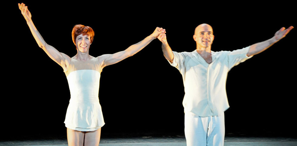 Sylvie Guillem and Russell Maliphant. Photo: Catalina Lordache