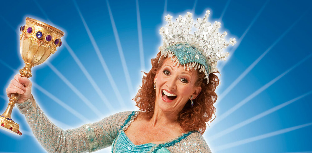 Bonnie Langford as the Lady of the Lake.