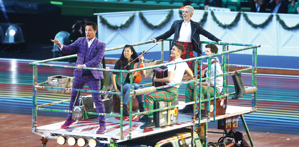 TV review: Commonwealth Games: Opening Ceremony; Virtually Famous