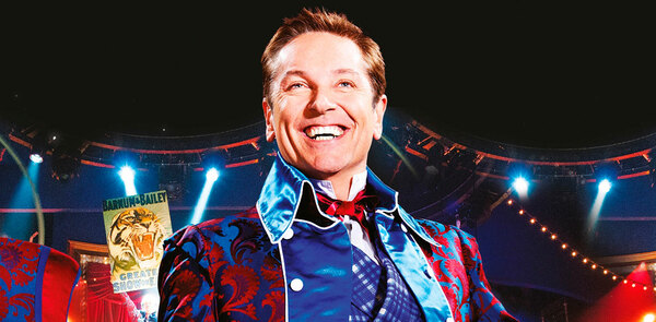 Brian Conley - 'dyslexia made me want to act'