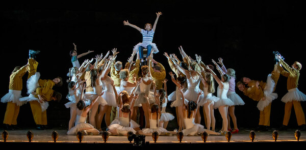 Billy Elliot's live screening: good for publicity, but it's better on stage