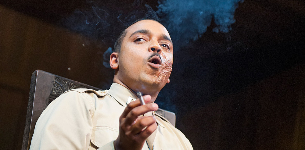 Actor and campaigner Danny Lee Wynter in Much Ado About Nothing at the Old Vic. Photo: Tristram Kenton
