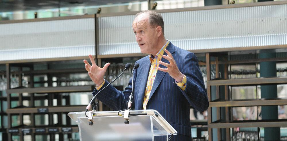 Arts Council England chair Peter Bazalgette