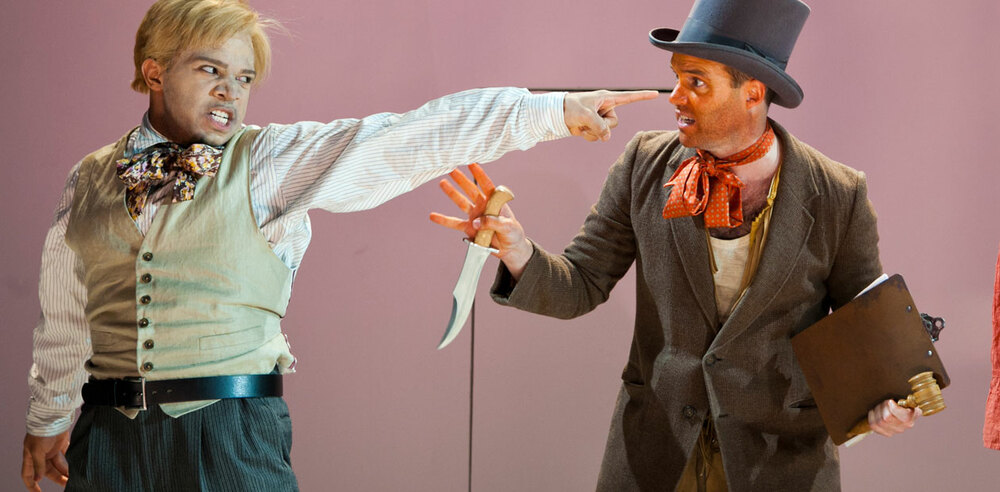 A scene from An Octoroon, set to play in February at Brooklyn's Theatre for a New Audience.. Photo: Pavel Antonov