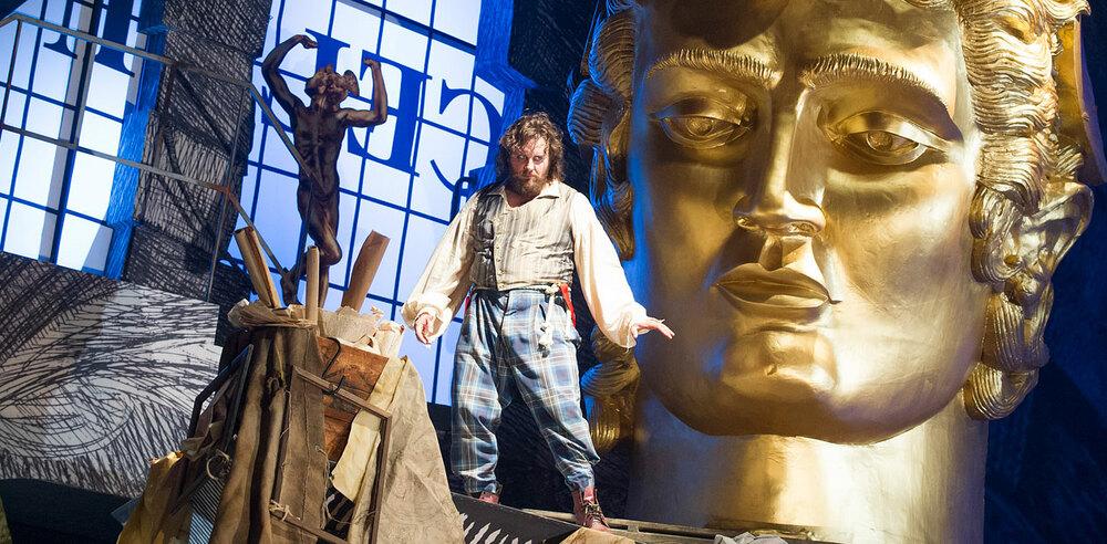 Michael Spyres in Benvenuto Cellini at the London Coliseum. Photo: Tristram Kenton