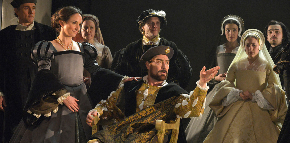 A scene from Wolf Hall at the Aldwych Theatre. Photo: Keith Pattison