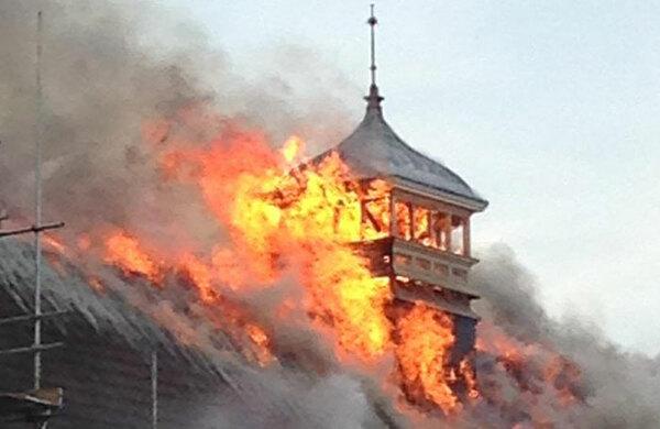 Large blaze breaks out at Battersea Arts Centre