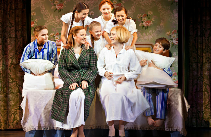 A scene from The Sound of Music. Photo: Pamela Raith