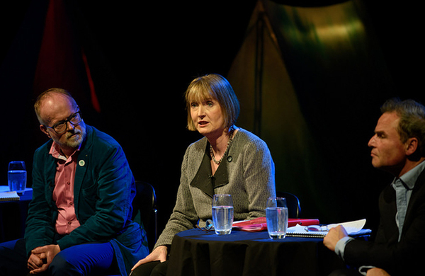 Harriet Harman: Private funding of the arts favours London