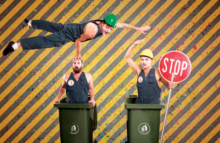 Publicity image for Australian company Trash Test Dummies
