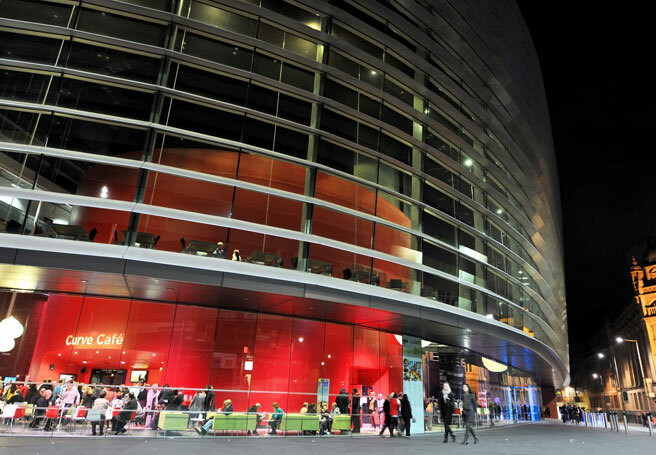The Curve, Leicester, will  be the host venue for the winning show's development. Photo: Iain Jaques