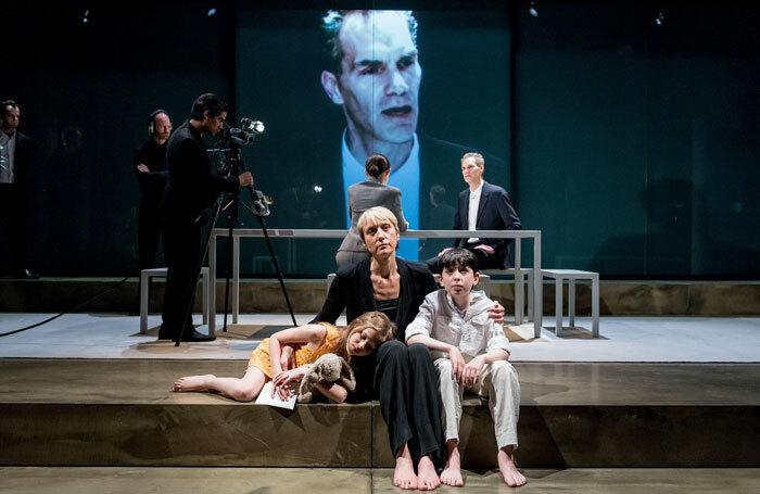 Oresteia at the Almeida Theatre, London. Photo: Manuel Harlan