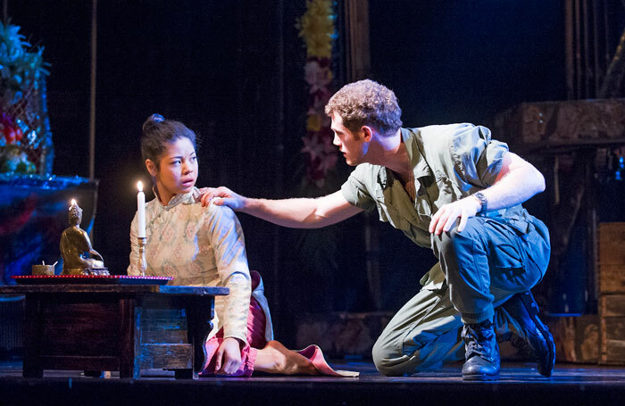 Eva Noblezada in Miss Saigon, Prince Edward Theatre. Photo: Tristram Kenton