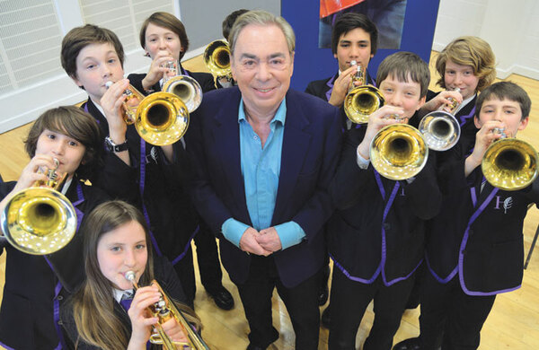 Andrew Lloyd Webber: 'I'm back – and I want another hit'