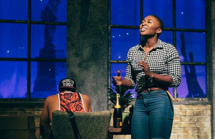 Cynthia Erivo in Songs for a New World at St James Theatre, London. Photo: Darren Bell