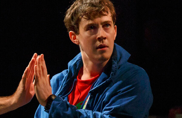 Alex Sharp: 'I hated school – acting was my escape route'