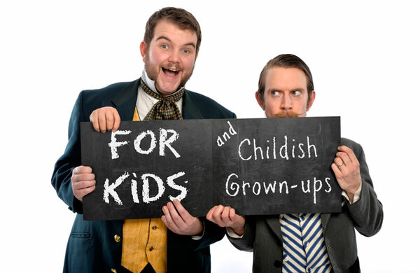 Morgan and West's Utterly Spiffing Spectacular Magic Show for Kids (and Childish Grown-ups!)