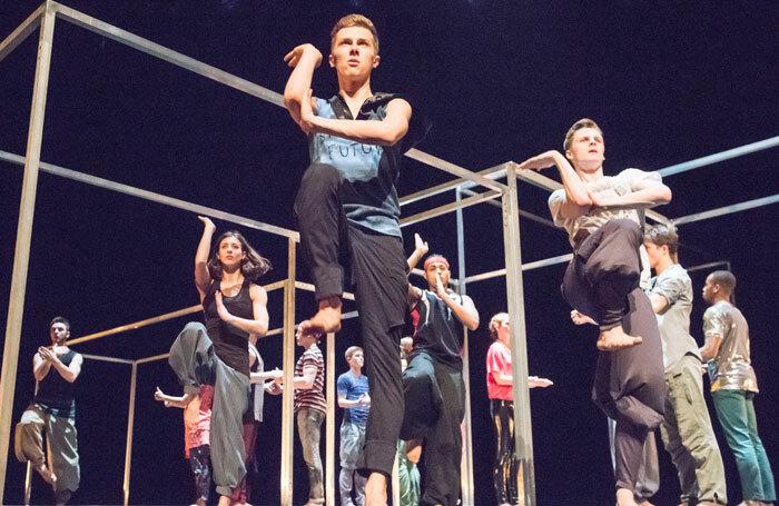 National Youth Dance Company performing work by Sidi Larbi Cherkaoui. Photo: Tony Nandi