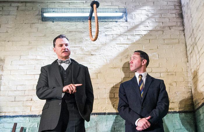 David Morrissey and Reece Shearsmith  in Hangmen. Photo: Tristram Kenton