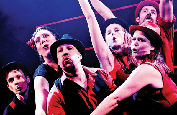 Improv artists make it up as they go – to the West End
