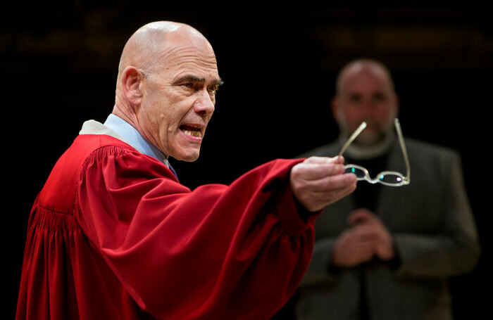 A scene from The Crucible at the Royal Exchange, Manchester. Photo: Jonathan Keenan