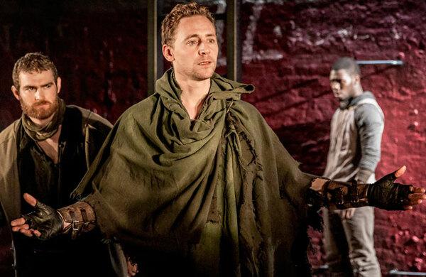 Tom Hiddleston and Josie Rourke create Coriolanus audio commentary