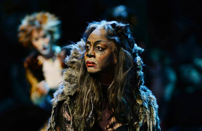 Beverley Knight in Cats at the Palladium in 2015. Photo: Alessandro Pinna
