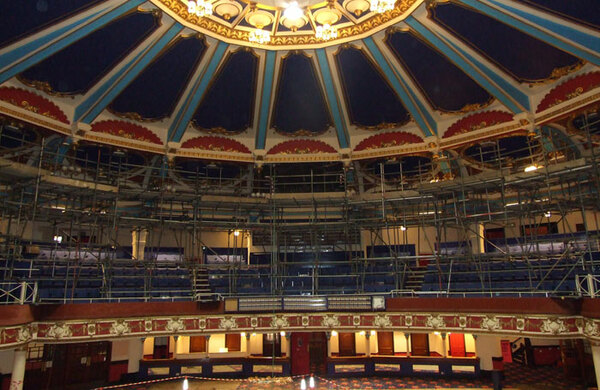 Brighton Hippodrome and Rose Playhouse among England's most endangered buildings