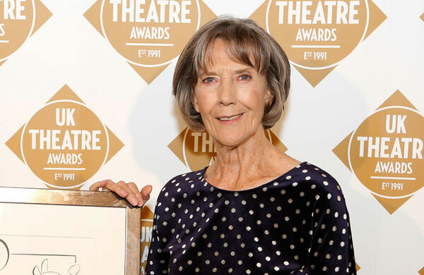 Eileen Atkins: 'Middle-aged male actors should lay off female roles'