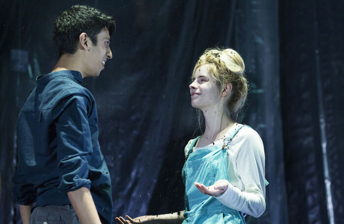 Scene from the National Youth Theatre's rep production of Wuthering Heights. Photo: Helen Maybanks