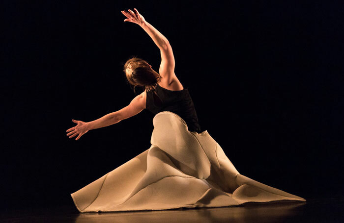 London Contemporary Dance School's postgraduate work by Mara Vivas. Photo: Benedict Johnson