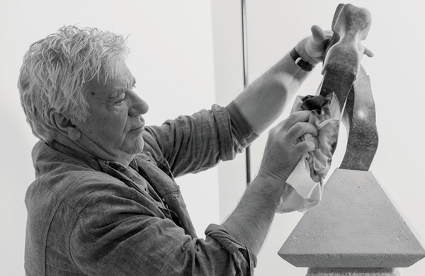 John Napier: 'I'm a concept and barbed-wire designer'