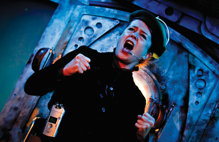 Lisa Howard in Emergency Story Penguin. Photo: Zagni Photography