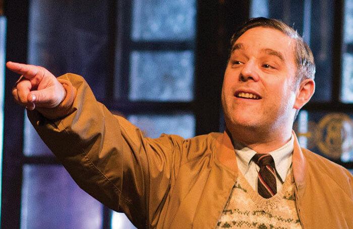 Andy Nyman in Hangmen at Wyndham's Theatre. Photo: Helen Maybanks