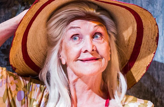 Sheila Hancock in Grey Gardens at Southwark Playhouse. Photo: Tristram Kenton
