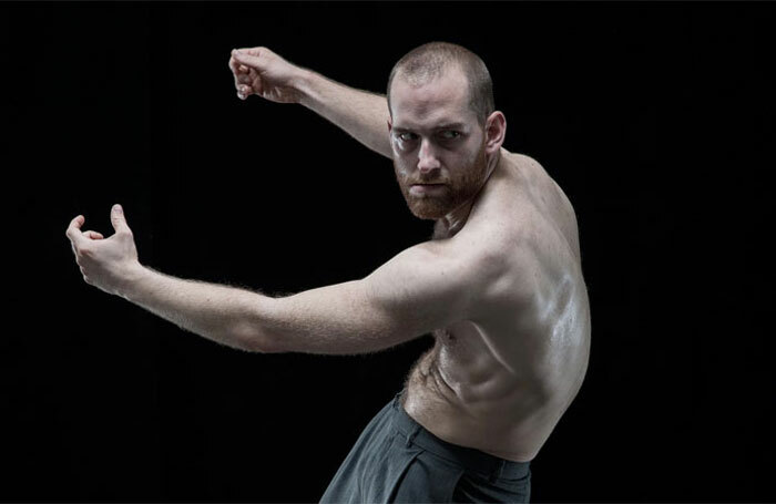 Hannes Langolf in DV8's John, which played at the National Theatre's Lyttelton in 2014