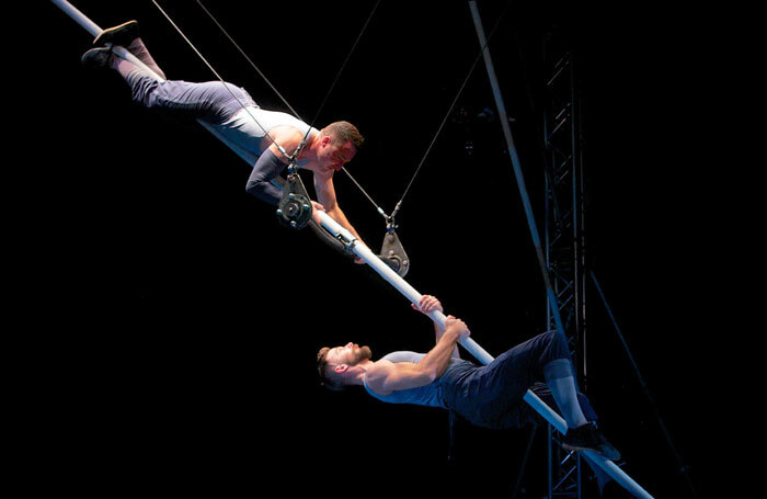A scene from Tipping Point. Photo: Nik Mackey